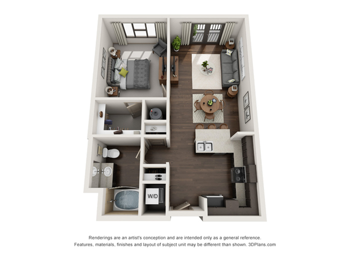 The Quill Floor Plan Image