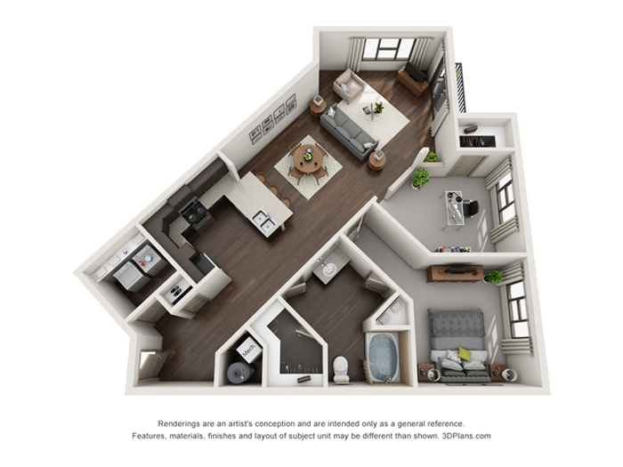 The Mill Floor Plan Image