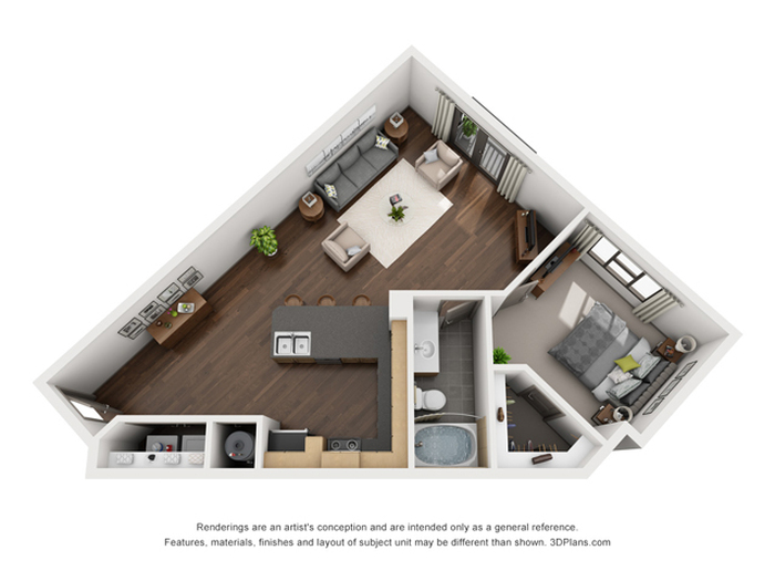 The Spindle Floor Plan Image