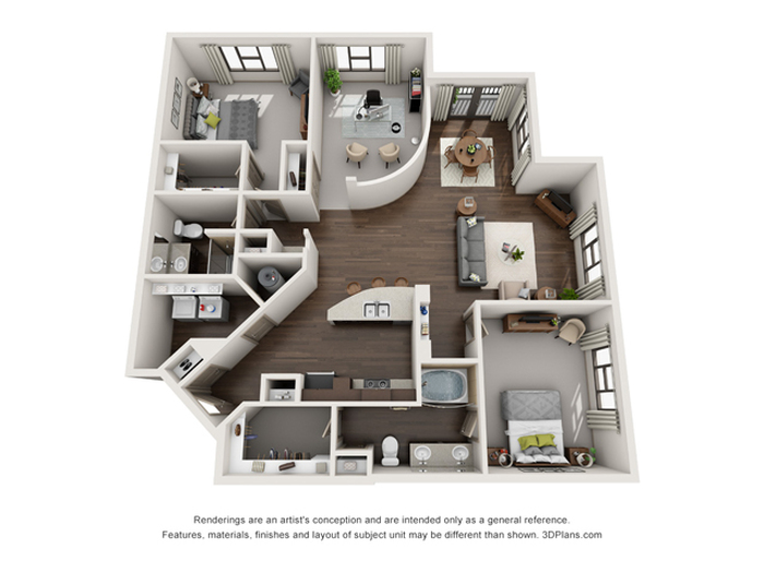 The Precision Floor Plan Image